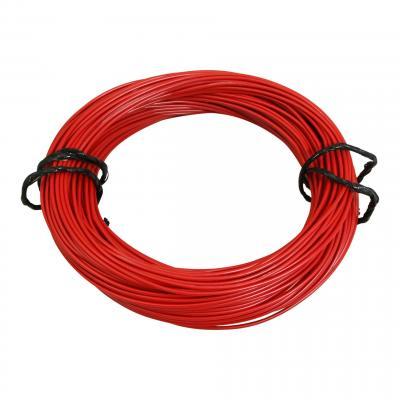Fil électrique 7-10 x0,50mm rouge 50m