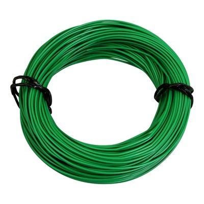 Fil électrique 7-10 x0,50mm vert 50m