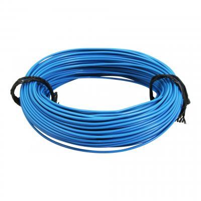 Fil électrique 9-10 x0,75mm bleu 50m