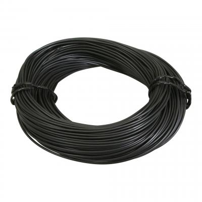 Fil électrique 9-10 x0,75mm noir 50m