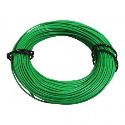 Fil électrique 9-10 x0,75mm vert 50m
