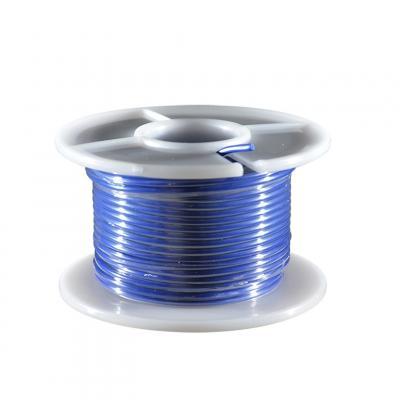 Fil électrique bleu section 0.75 mm 25 m