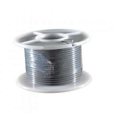 Fil électrique gris section 0.75 mm 25 m