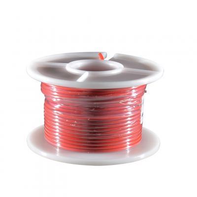 Fil électrique rouge section 0.75 mm 25 m