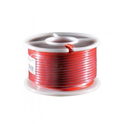 Fil électrique rouge section 1.5 mm 25 m