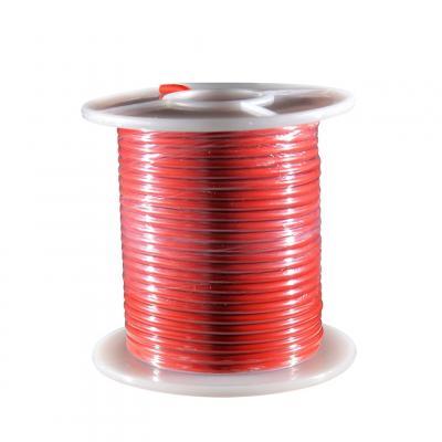 Fil électrique rouge section 2.5 mm 25 m