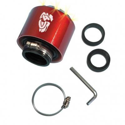 Filtre à air C4 35-28 mm rouge à LED