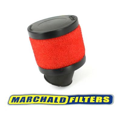 Filtre a air Marchald Small Filter Red 75 D.28 30°
