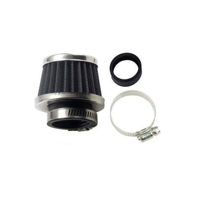 Filtre à air mini noir/argent Ø 35-28mm