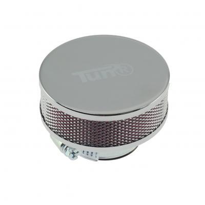 Filtre à Air Tun'R D28-35 Extra Plat Cylindrique Chrome