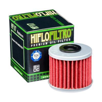 Filtre à huile Hiflofiltro HF117