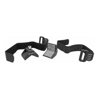 Fixation velcro support porte bidon ou mini pompe Race One