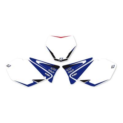 Fonds de plaques Blackbird Racing Yamaha 250 YZ 02-04 bleu/blanc