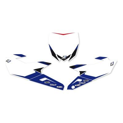 Fonds de plaques Blackbird Racing Yamaha 250 YZ-F 14-18 bleu/blanc