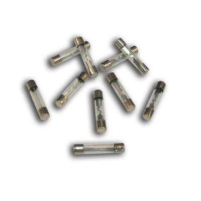 Fusibles rond en verre L.25mm 10A D.6 x10
