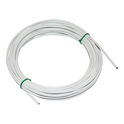 Gaine dérailleur Fibrax Ø4mm anti-compression avec liner teflon blanc (15m)