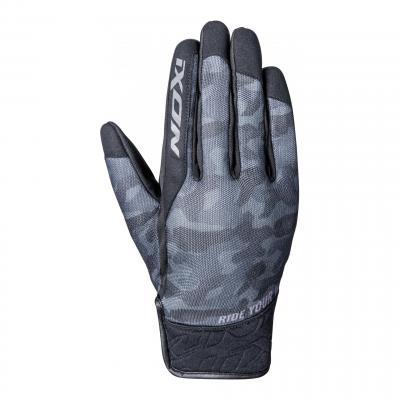 Gant été textile Ixon RS Slicker noir/noir camouflage