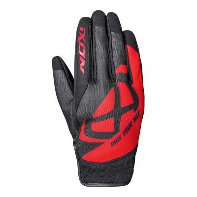 Gant été textile Ixon RS Slicker rouge/noir