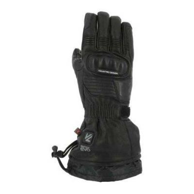 Gants chauffants cuir V'Quattro Vulcan 18 Heating noir