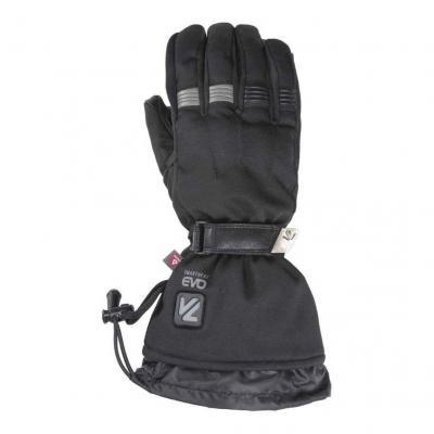 Gants chauffants textile V'Quattro Metropolis 18 Heating noir