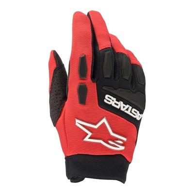 Gants cross Alpinestars Full Bore bright rouge/noir