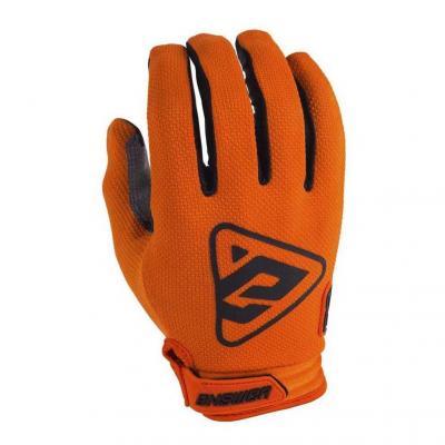 Gants cross Answer AR3 orange/noir