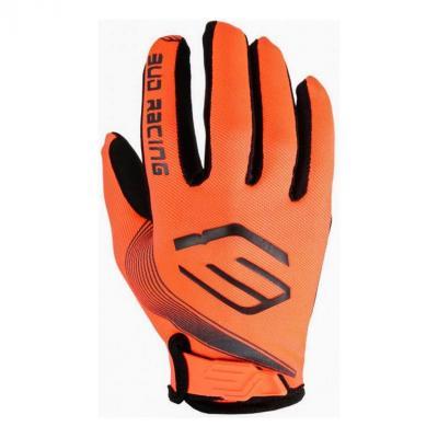 Gants cross enfant Bud Racing SX Lite orange fluo