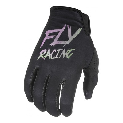 Gants cross enfant Fly Racing Lite S.E. noir/fusion