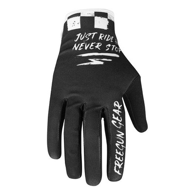 Gants cross enfant Freegun Devo Speed 2.0 noir