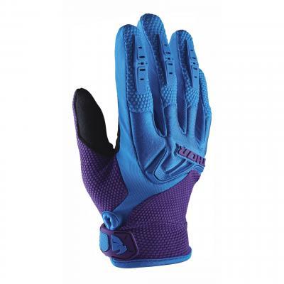 Gants cross femme Thor Spectrum bleu/violet