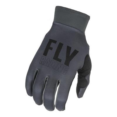 Gants cross Fly Racing Pro Lite gris/noir