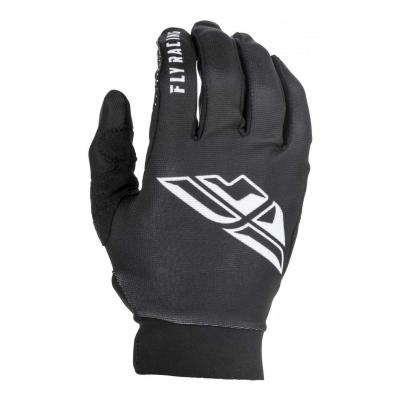 Gants cross Fly Racing Pro Lite noir/blanc