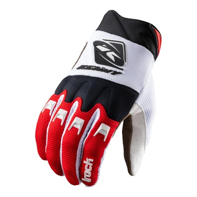 Gants cross Kenny Track blanc/rouge/noir
