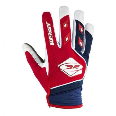 Gants cross Kenny Track rouge/navy