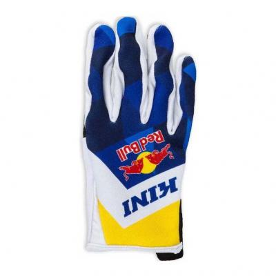 Gants cross Kini Red Bull Vintage bleu marine/jaune