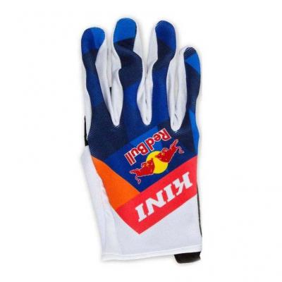 Gants cross Kini Red Bull Vintage orange/bleu