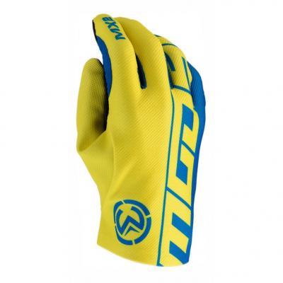 Gants cross Moose Racing MX2 bleu/jaune