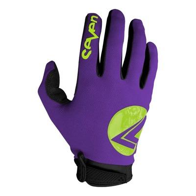 Gants cross Seven Annex 7 Dot violet