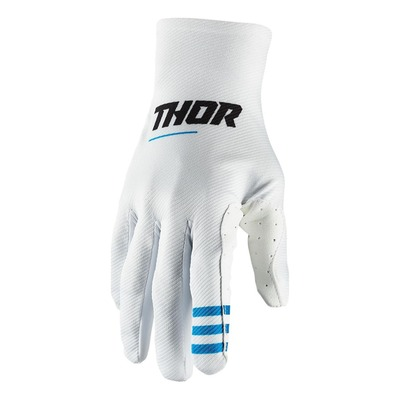 Gants cross Thor Agile plus blanc