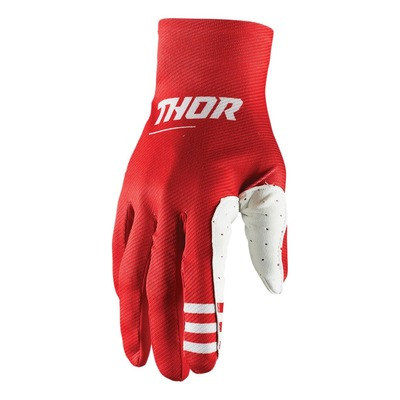 Gants cross Thor Agile plus rouge