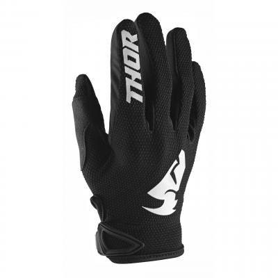Gants cross Thor Sector noir