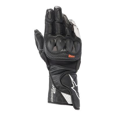 Gants cuir Alpinestars SP-2 V3 noir/blanc