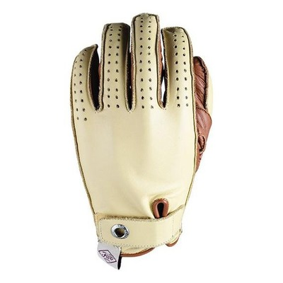 Gants cuir Five Colorado beige/marron