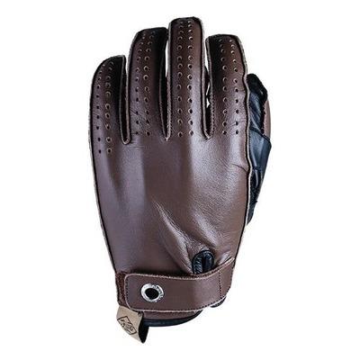 Gants cuir Five Colorado marron/noir