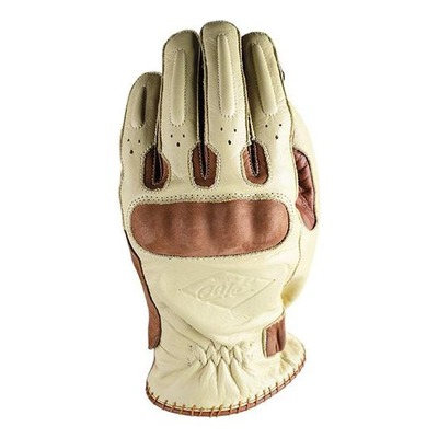 Gants cuir Five Oklahoma beige/marron