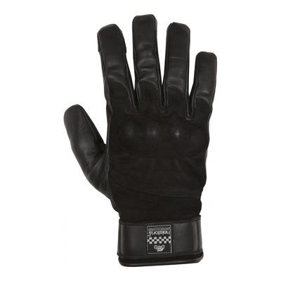 Gants cuir hiver Helstons Glory noir