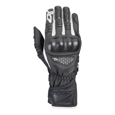 Gants cuir Ixon RS Tango noir/blanc