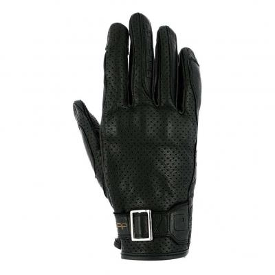 Gants cuir Overlap Tormo noir