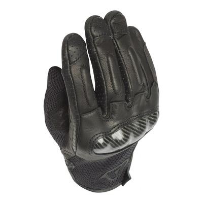 Gants cuir/textile Acerbis Ramsey noir