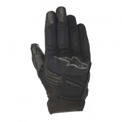 Gants cuir/textile Alpinestars Faster noir